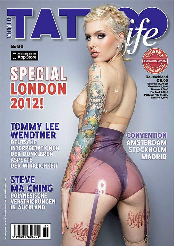 Brooklyn, NY Dec 14, 2012 2012 Tattoo life magazine, printed 5 languages worldwide