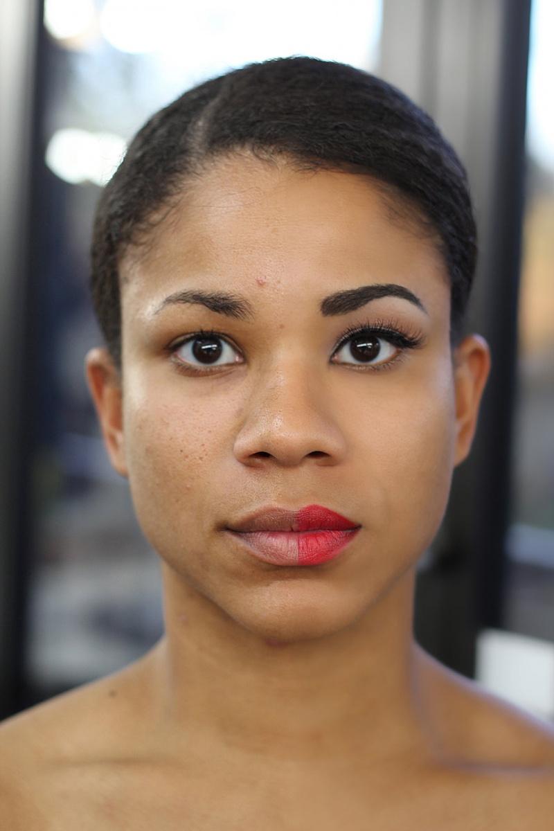 Female model photo shoot of Emily Fox Makeup