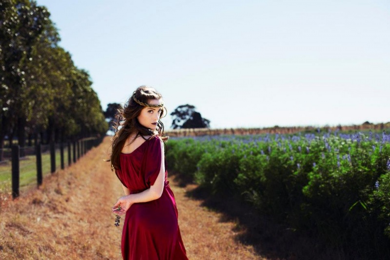 Female model photo shoot of Make-up Ur Mind in Swan Valley, Western Australia