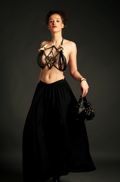 Dec 20, 2012 http://www.facebook.com/nsjwl Men net luxury leather neck piece and bag