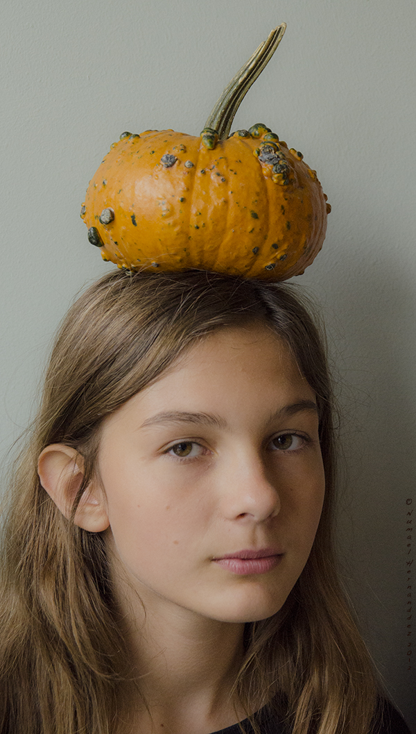 as if... Dec 22, 2012 Numael Hernandez 2012 Pumpkin a la Rene Magritte. Model: Chloe