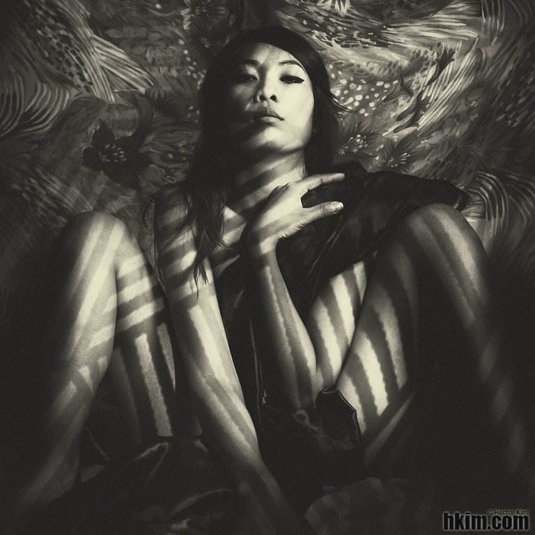 Male model photo shoot of Hector Kim
