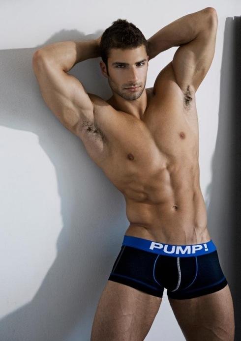 NYC Dec 25, 2012 PUMP Underwear Campaign