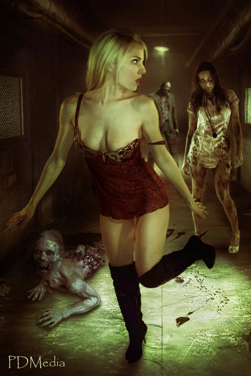 San Diego, CA Dec 26, 2012 PDMedia Zombie Apocalypse (Retouch by Joe Reeves) - WINNER Dark Image of the Day 2-4-14