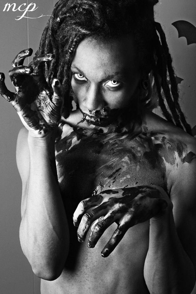 Acworth, GA Dec 27, 2012 morgue creations photography Model: Kai Betts Singer of Henry Hacksaw