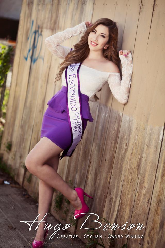 San Diego, Ca Jan 02, 2013 Hugo Benson Representing Escondido for the Miss California Latina Pageant