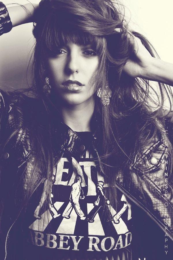 Female model photo shoot of Kristina Maria