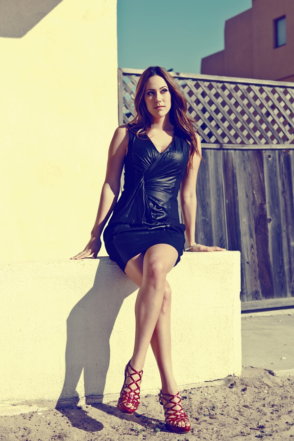 Female model photo shoot of Breana Shantel by Manuel Vinicio in Marina Del Rey, CA, makeup by Cris Alex