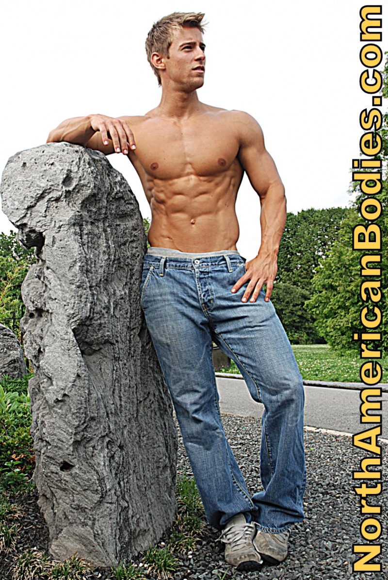 Male model photo shoot of NorthAmericanBodies in Brooklyn, NY