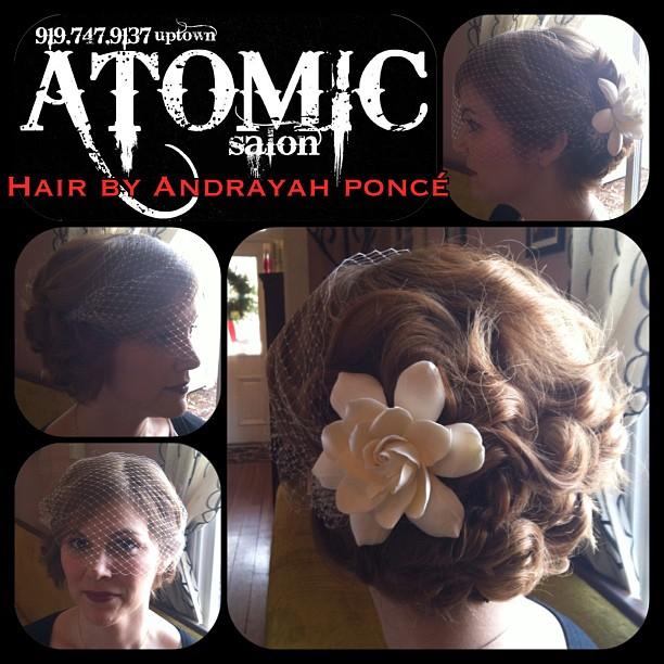 Female model photo shoot of Hair by Andrayah Ponce, hair styled by Hair by Andrayah Ponce