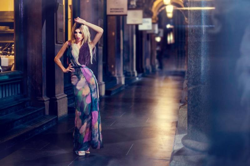 Female model photo shoot of Jolie Louise  by Tom Lau, wardrobe styled by CarolineFung