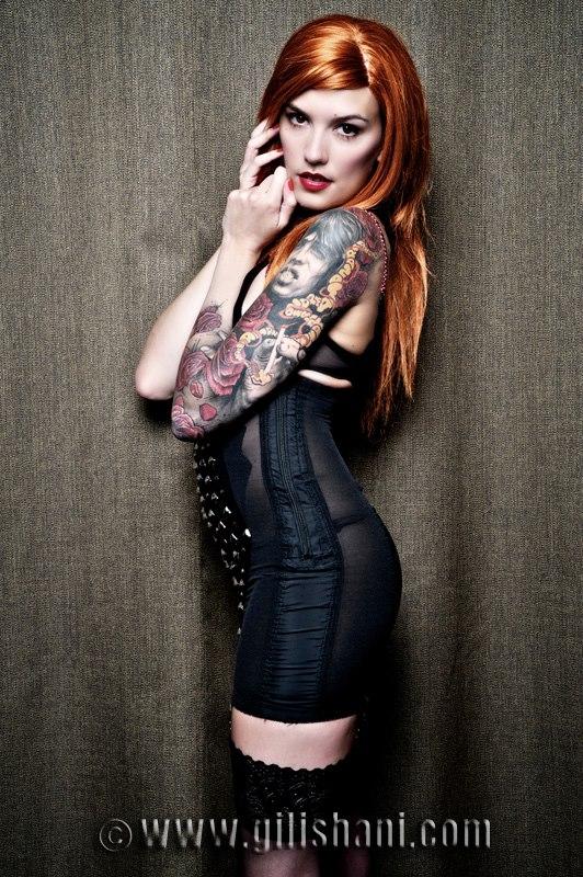 Female model photo shoot of __Marine__ in Berlin