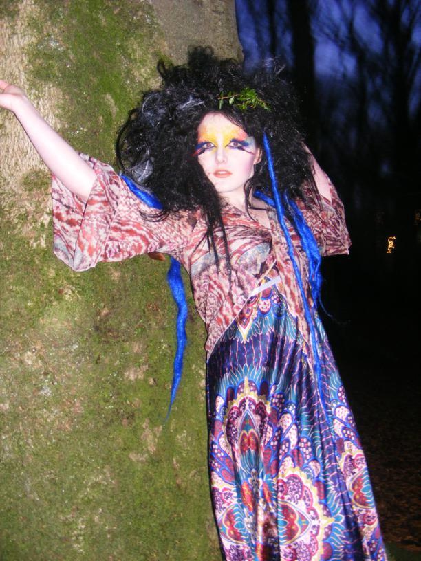 Female model photo shoot of Belle Morte Beauty in Model - Janice Snowden