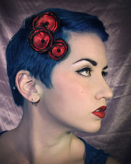 Jan 08, 2013 Horribly Eclectic Burlesque pixie flowers