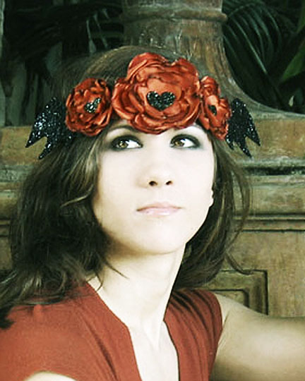 Jan 08, 2013 Horribly Eclectic Hallow headpiece - one of a kind