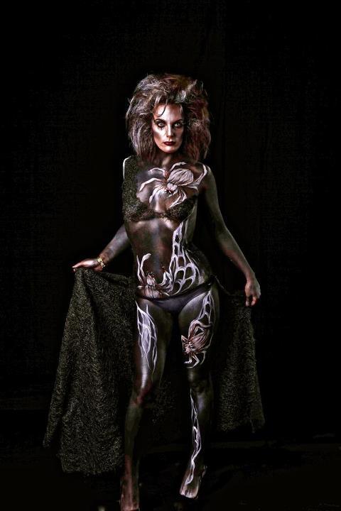 Female model photo shoot of Aj S