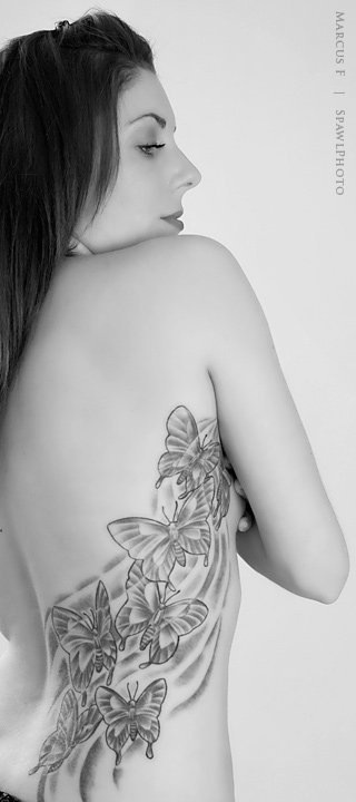 Montreal Jan 11, 2013 Marcus Freedman This picture is really old, but I like that it shows the art work on my back!