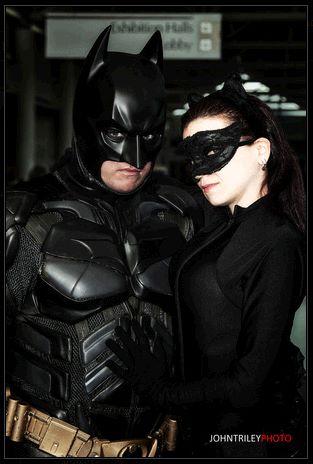 Jan 12, 2013 John T Riley Photography Catwoman and Batman