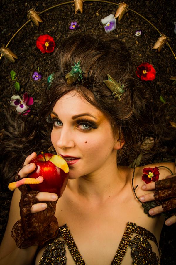 Female model photo shoot of Lula Houp-Garou by Jian Bastille