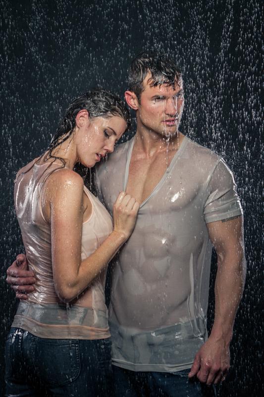 Kaysville, UT Jan 13, 2013 Adam Reeves Photography Couple in the Rain