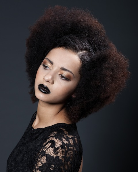 Toni and Guy Academy Jan 14, 2013 LouisMaharaj Loreal Colour Trophy Afro Finalist