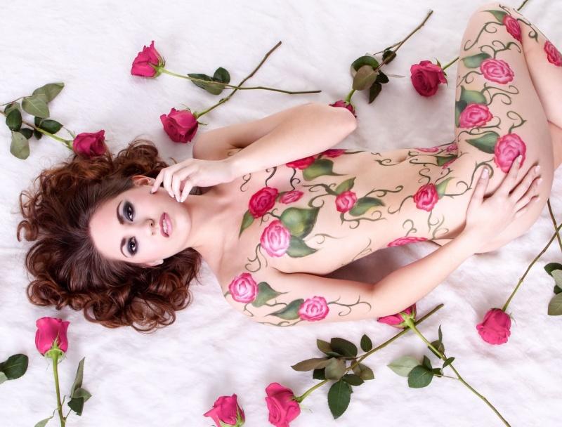 Jan 16, 2013 DND Images Flower Body Art 2
