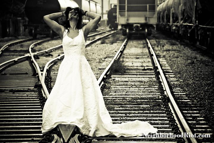 Female model photo shoot of Neighborhood Riot LLC in New Orleans, LA