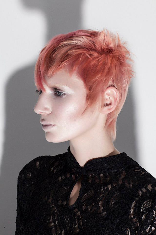 London Jan 19, 2013 Natalie J. Watts Sassoon/ hair: Karin Kratzeisen / make up: Kamila Siemiatkowska