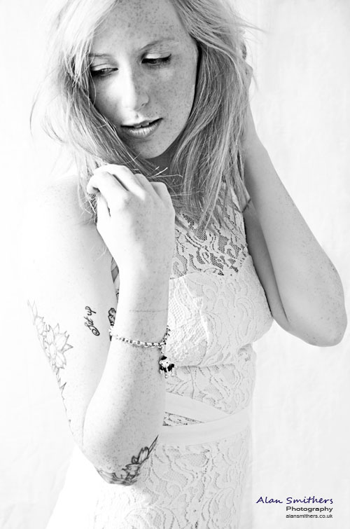 Female model photo shoot of Hayley Pitfield by Alan Smithers