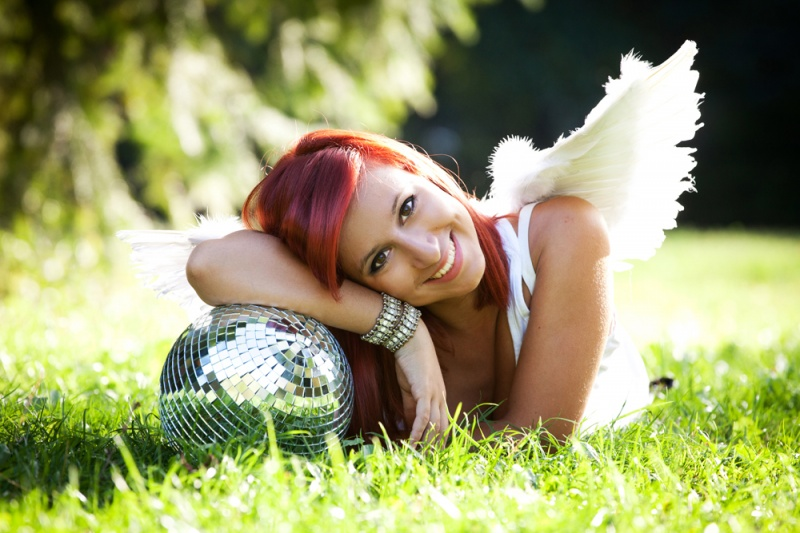 Female model photo shoot of Princess Summer