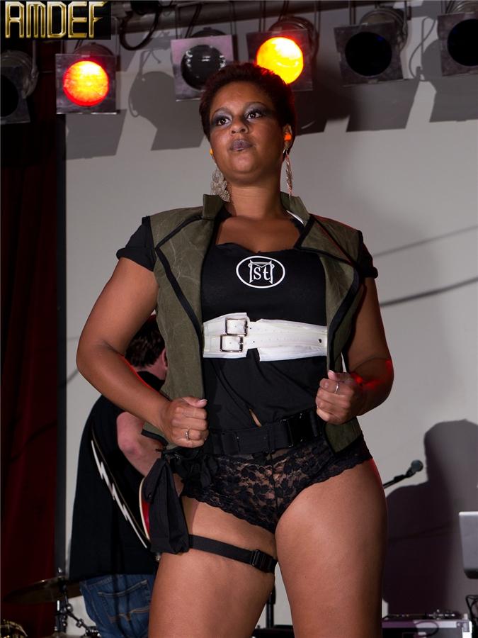 Female model photo shoot of Sam St Michael in AMDEF 2012