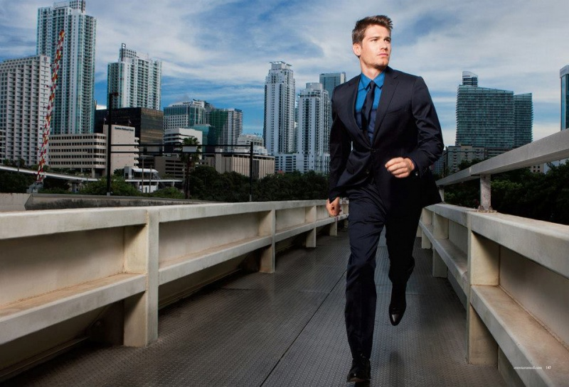 MIAMI Jan 23, 2013 Richard Reinsdorf Man running on bridge