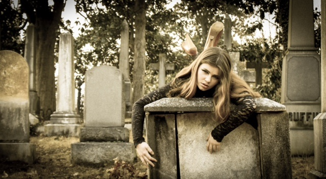 Male model photo shoot of JandA Photography in Hollywood cemetery