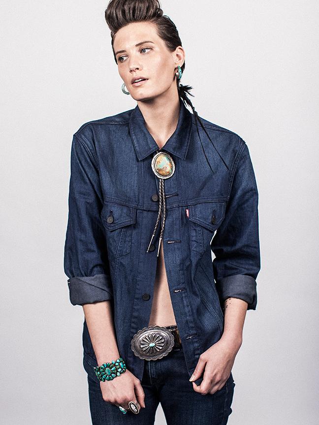 Female model photo shoot of Courtenay Nearburg in NYC