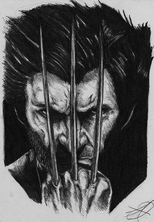 Jan 28, 2013 darkartistdomain wolverine portrait