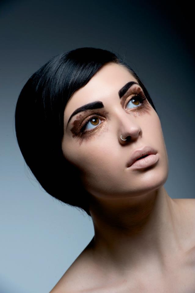 Female model photo shoot of N E K O M A R I E in Studio