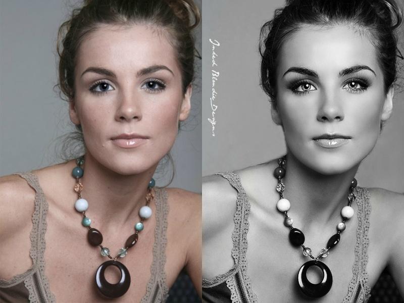 Female model photo shoot of InkedBlondieDesigns