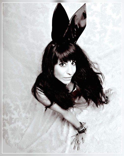 Manchester Jan 31, 2013 M salina and studio fusion Black and white rabbit