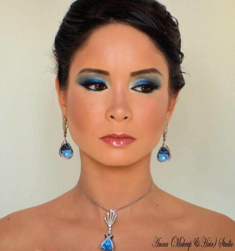 Jan 31, 2013 Amna Make up & Hair Studio Bridal Photoshoot