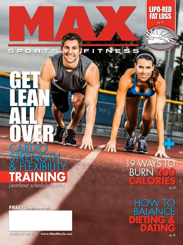 Feb 01, 2013 JP 2013 Max Sports & Fitness Magazine | February 2013
