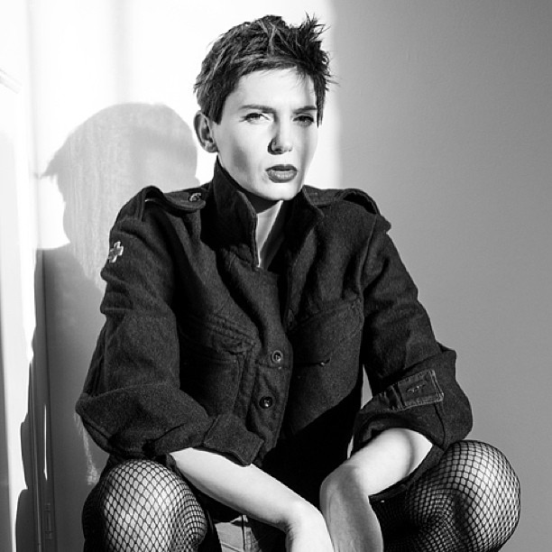 Female model photo shoot of DEMAUPIN in London