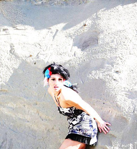 Badlands North Dakota Feb 04, 2013 Anfinson Photography (Photographer) Dress Designer: KS Glamor (Canada)