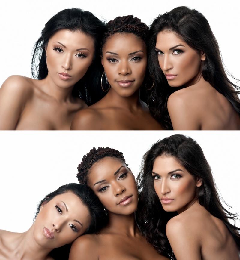 Seattle WA Feb 04, 2013 Models: Shanzay Hayat, Crystal Louey, Tanya J, Photographer: Jiamin Zhu, Hair and Makeup: Tanya J, Makeup Products: Emaani Makeup 2013 - Emaani Makeup Shoot
