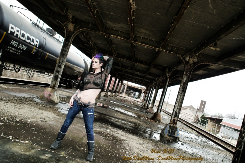 Male and Female model photo shoot of DarkMoonPhoto and GIGI in Louisville, Ky