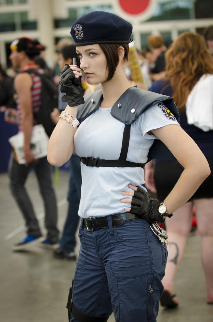 San Diego Comic Con Feb 06, 2013 My Jill Valentine (Resident Evil) costume