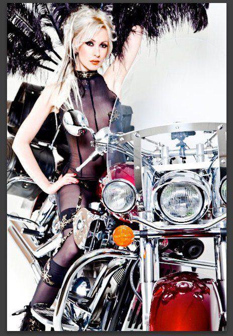 Female model photo shoot of Maleficent Martini in KV Media Studios