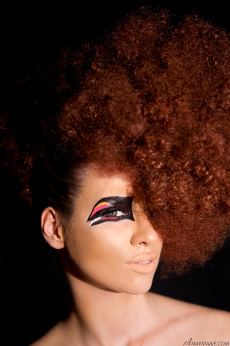 Female model photo shoot of MAGIC FX  by NayMarie Photography, makeup by MAGIC FX