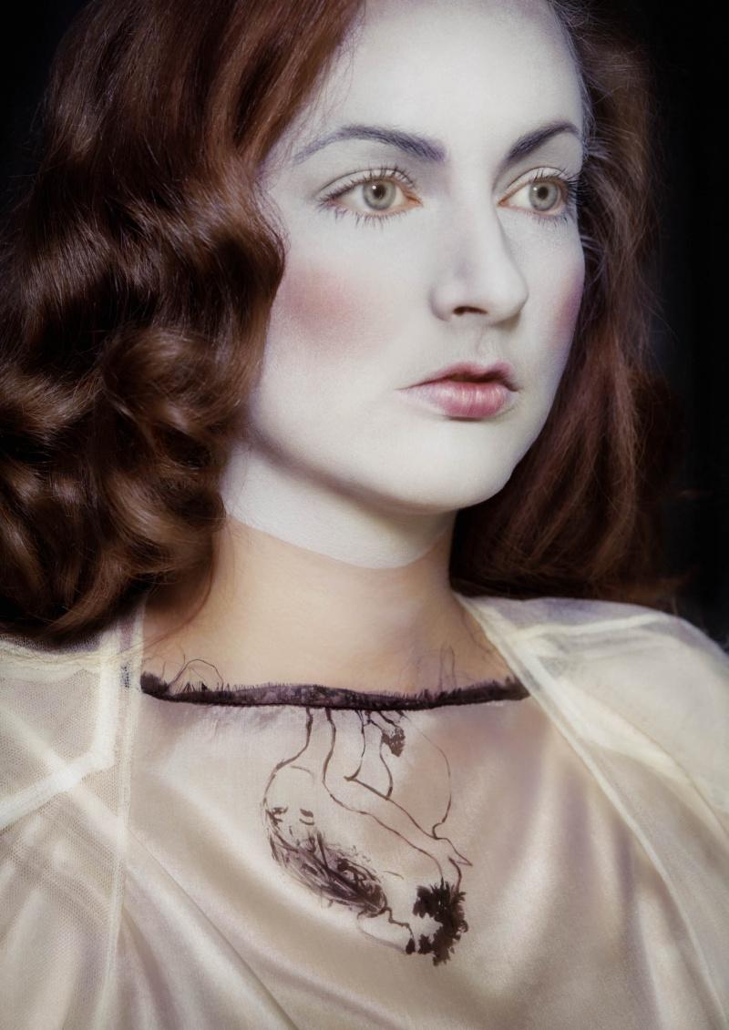 Female model photo shoot of Marjolein de Rijk in Studio Miss RICH