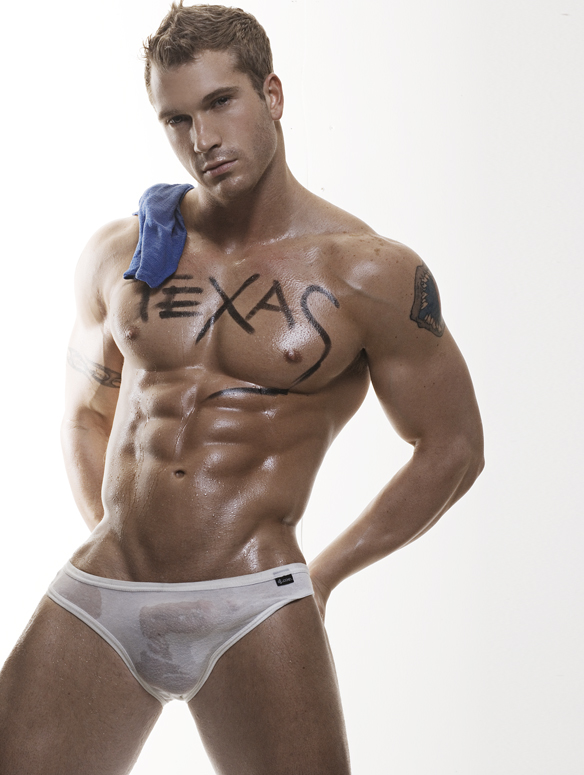 Erotic male modeling