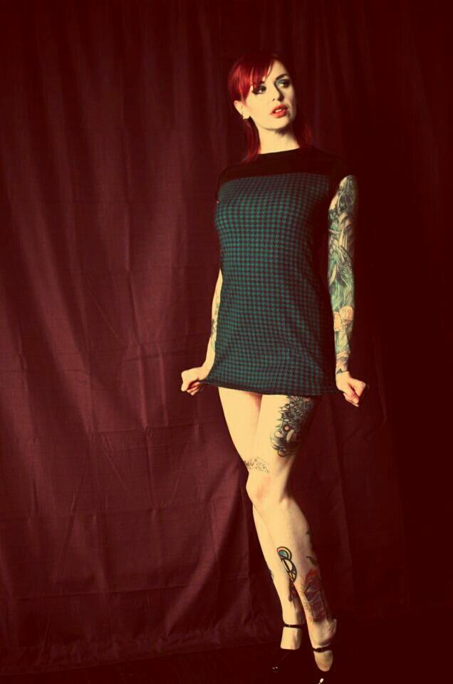 Female model photo shoot of Apocalypse Meow